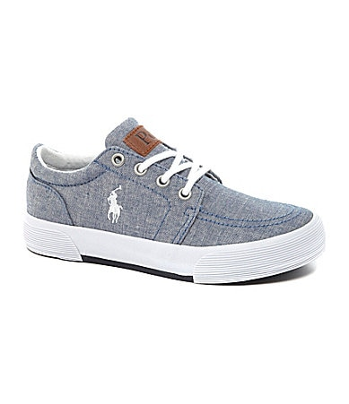 Polo Ralph Lauren Boys� Faxon II Casual Sneakers