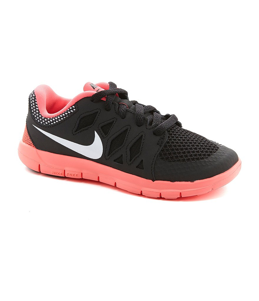 Nike Girls' Free 5.0 Sport Performance Running Shoes