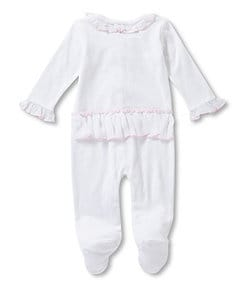 Treasures by Starting Out Newborn-6 Months Bow Coveralls
