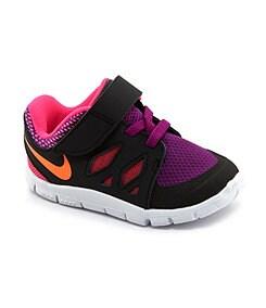 Nike Girls� Free 5 Sport Performance Running Shoes