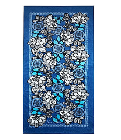 Vera Bradley Blue Bayou Beach Towel $ 35.00