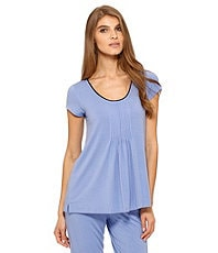 DKNY Seven Easy Pieces Short Sleeve Top