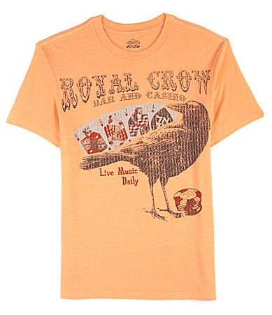 Cremieux Jeans Short-Sleeve Royal Crow Tee $ 25.00
