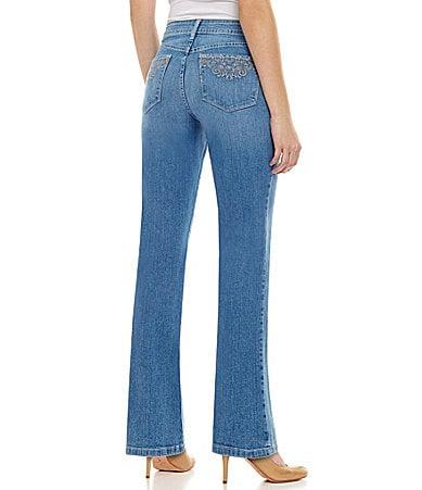 NYDJ Barbara Embellished Bootcut Jeans