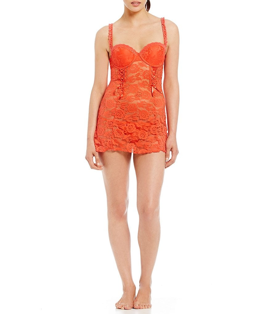 Cassandra Rachel Lace Push-Up Balconette Babydoll