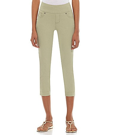Jag Jeans Felicia Pull-On Cropped Jeans