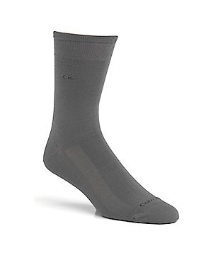 Calvin Klein Cool Effects Mid-Calf Flat Knit Casual Socks