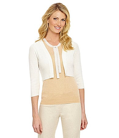Preston & York Holly Cropped Cardigan $ 59.00