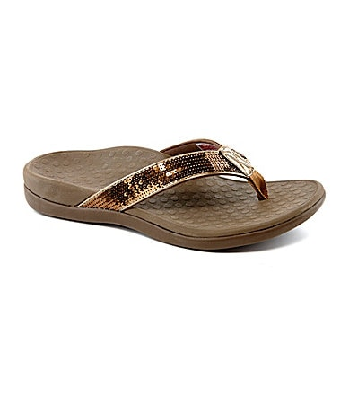 Vionic� with Orthaheel� Technology Tide Sequins Sandals