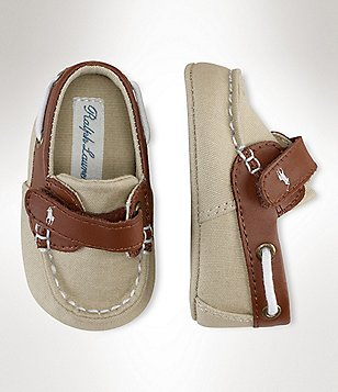 Ralph Lauren Baby Boys Canvas Sneakers