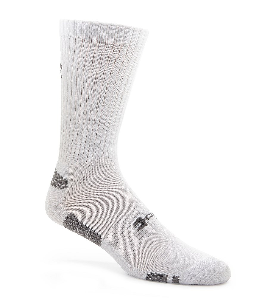 Under Armour Heatgear Crew Socks 3-Pack