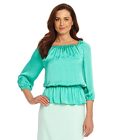Preston & York Terri Blouson Blouse $ 35.40