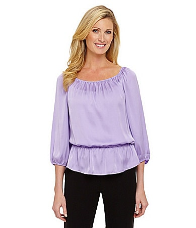 Preston & York Terri Blouson Blouse $ 59.00