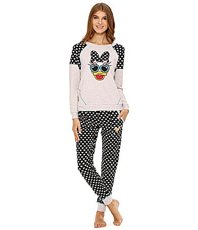 Disney Luxe Raglan Long Sleeve Pullover Top