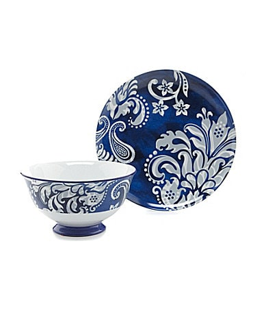 Noble Excellence Rue De Bleu Accent Dinnerware Collection $ 10.00
