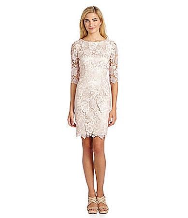 Sale alerts for  Eliza J Lace Shift Dress - Covvet