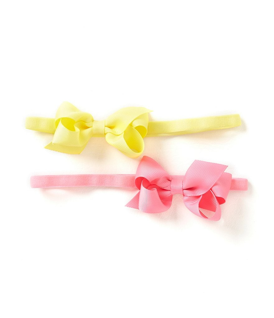 Starting Out 2-Pack Grosgrain Bow Headbands