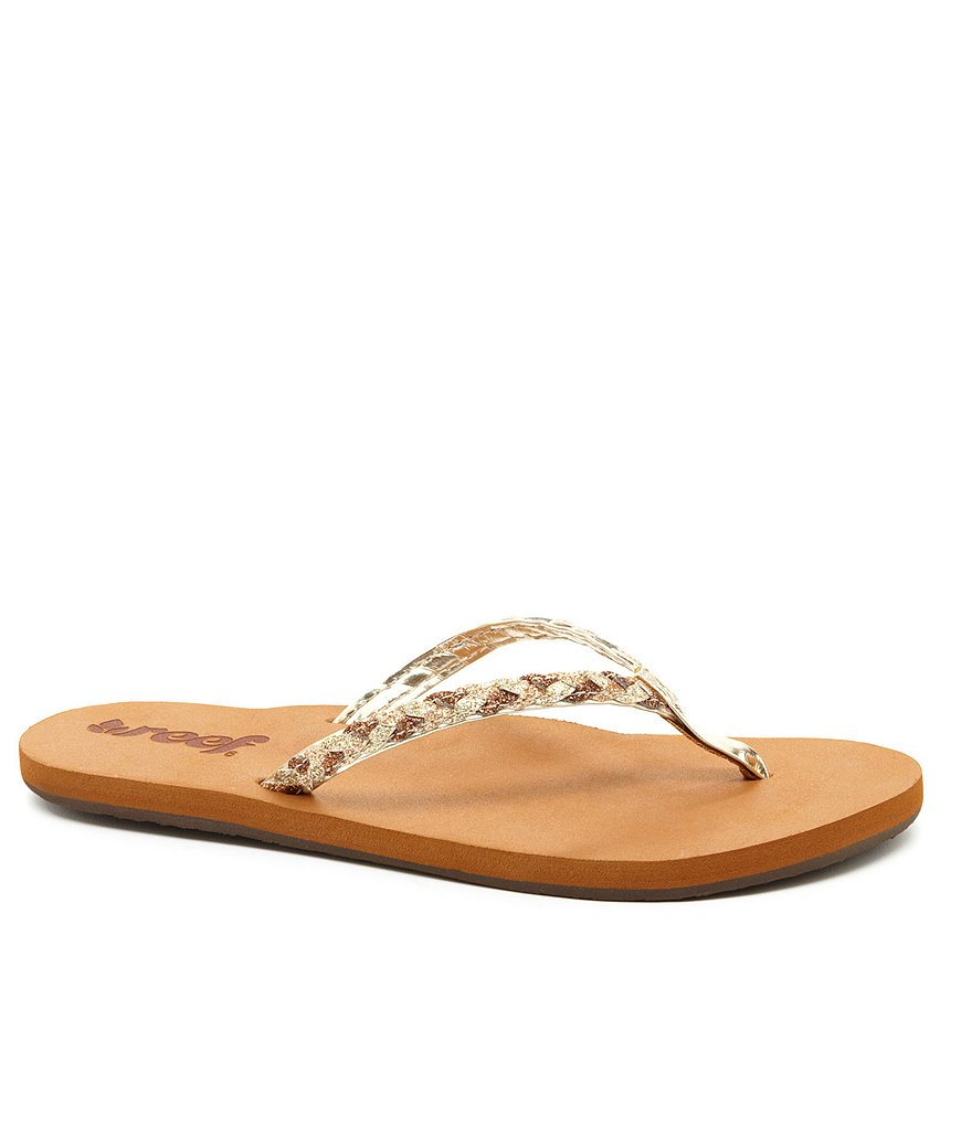 Reef Twisted Stars Flip Flop Sandals