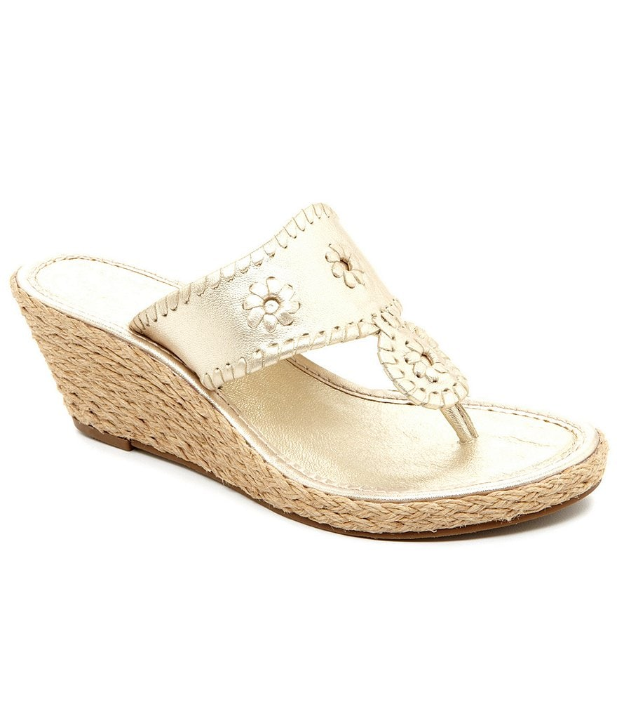 Jack Rogers Marbella Wedge Sandals
