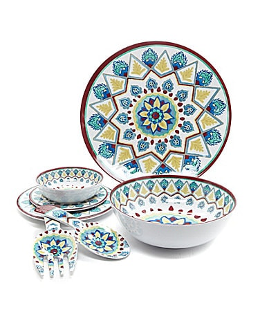 Noble Excellence Capri Melamine Dinnerware $ 10.00