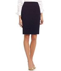 Antonio Melani Terny Crepe Pencil Skirt