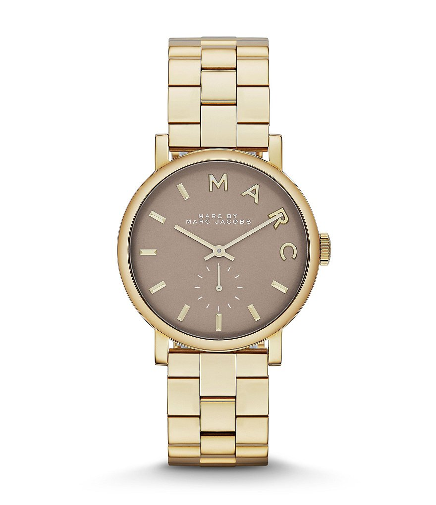 Marc Jacobs Baker Grey Dial Watch