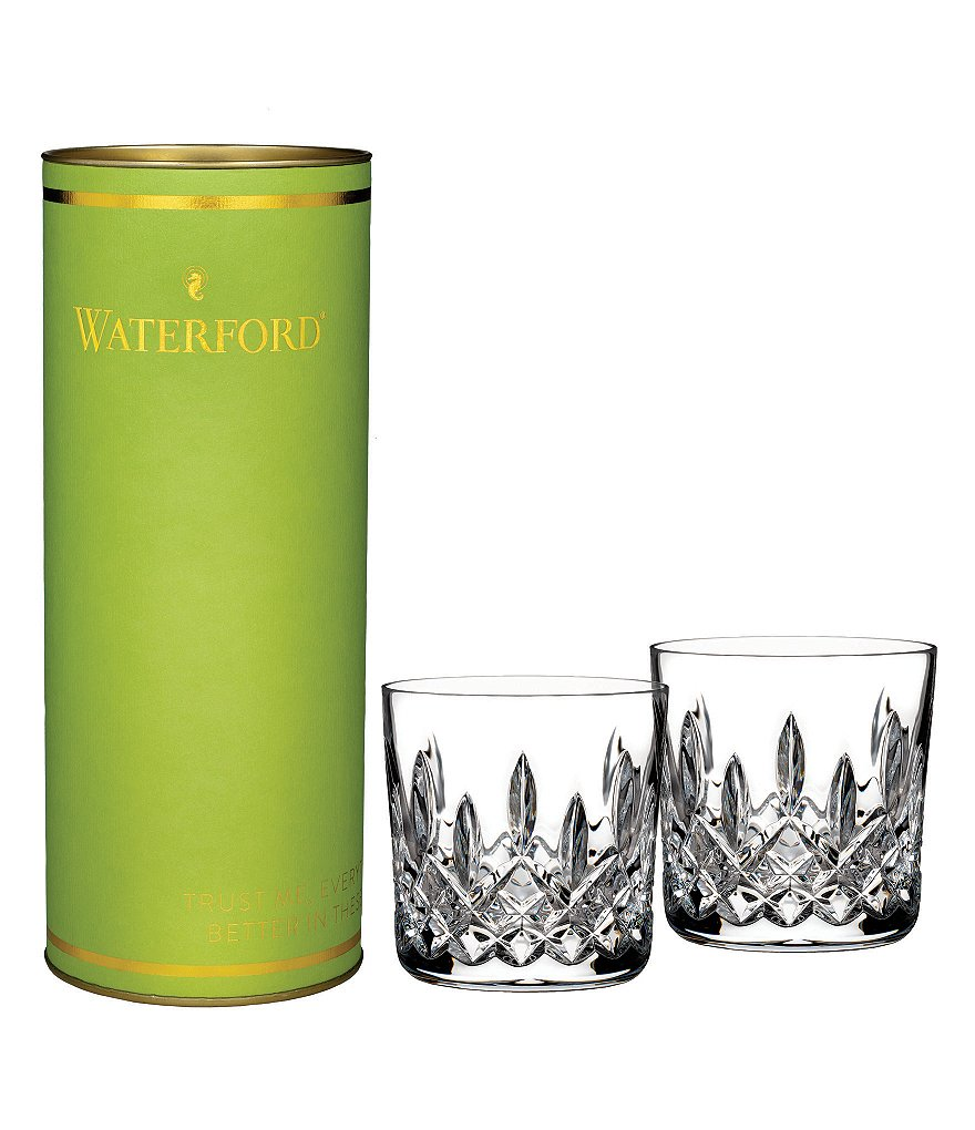 Waterford Crystal Giftology Lismore Tumbler, Pair