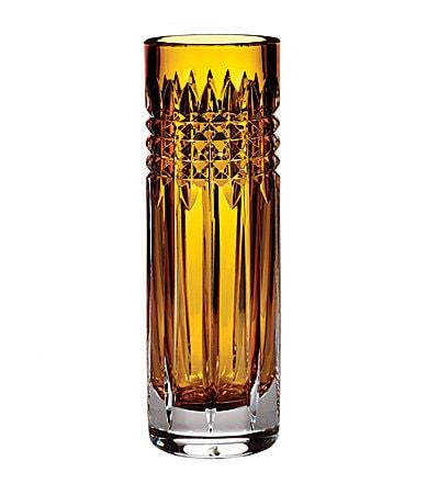 Waterford Fleurology Tina 9' Amber Bud Vase $ 185.00
