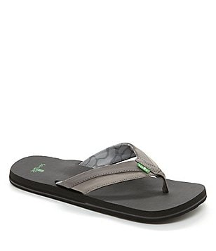 Sanuk Men's Beer Cozy Light Flip Flop Sandals