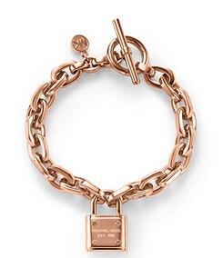 Michael Kors Padlock Toggle Bracelet