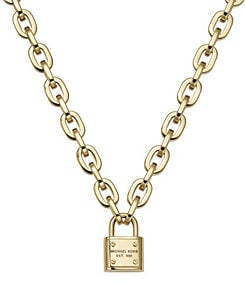 Michael Kors Padlock Toggle Necklace