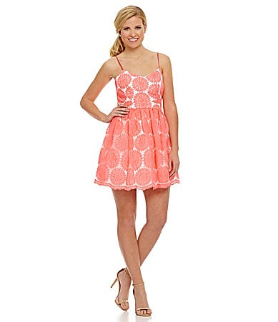 B. Darlin Daisy-Lace Party Dress $ 89.00