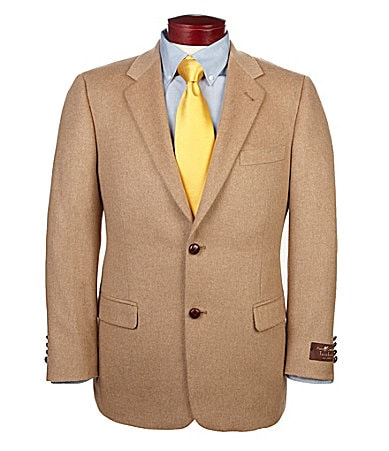 Give your jeans and t-shirt ensemble a jolt with a herringbone jacket, or try the rich texture of a velvet sport coat. Also look for button-front vests for great combination of laidback and luxury. Checking out dressier styles? Find blazers and sport coats in the suiting department. The clean-cut lines of a structured suit jacket are sure to impress.