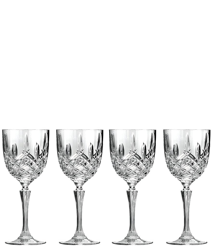 Marquis by Waterford Markham Traditional Crystal Wine Glasses, Set of 4
