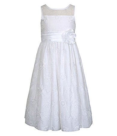 Bloome 7-12 Sleeveless Woven Dress