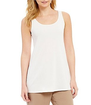 Eileen Fisher Silk Jersey Tunic