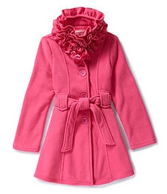Copper Key Children�s 7-16 Lion Ruffle Coat