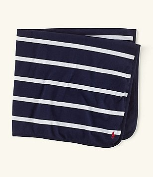 Ralph Lauren Childrenswear Rugby-Striped Blanket