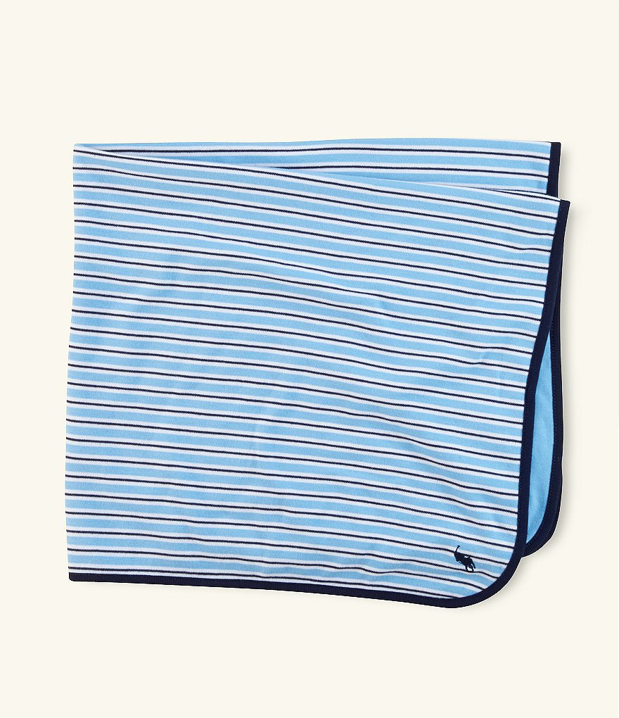 Ralph Lauren Childrenswear Rugby-Stripe Blanket