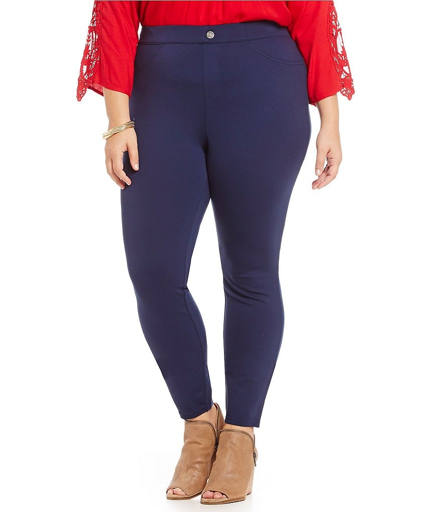 Intro Plus Double-Knit Leggings
