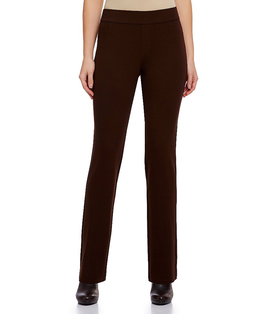 Intro Petite Slim-Her Straight Leg Pants