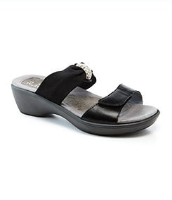 Naot Pinotage Wedge Slide Sandals