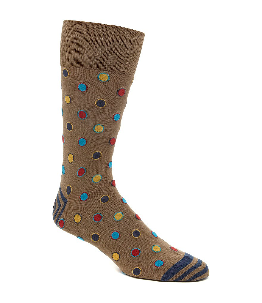 Johnston & Murphy Men´s Framed Dot Socks