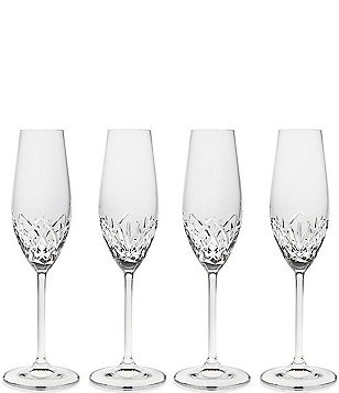 Godinger Reserve Crystal Flutes, Set of 4