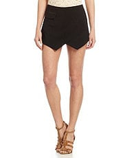 Gianni Bini Blain Zip-Pocket Skort