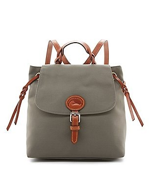 Dooney & Bourke Flap Nylon Backpack