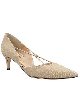 J. Renee Veeva Pointed-Toe Pumps