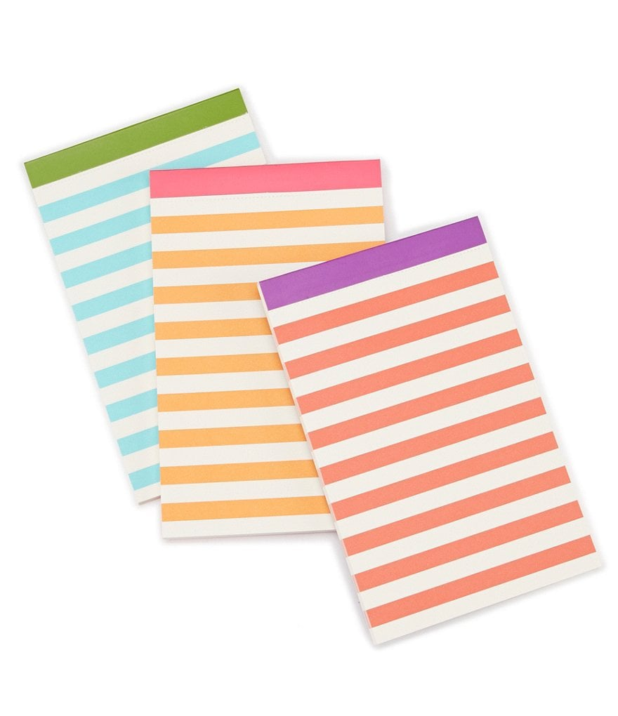 kate spade new york Striped Notepad Set