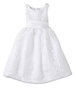 Jayne Copeland 2T-6X Lace-Overlay Dress