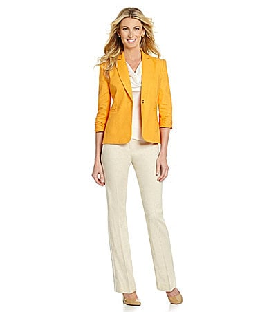 Preston & York Emmeline Ruched-Sleeve Jacket $ 99.00
